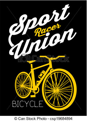 Eps Vectors Of Bicycle Sport Racer Csp19684894   Search Clip Art