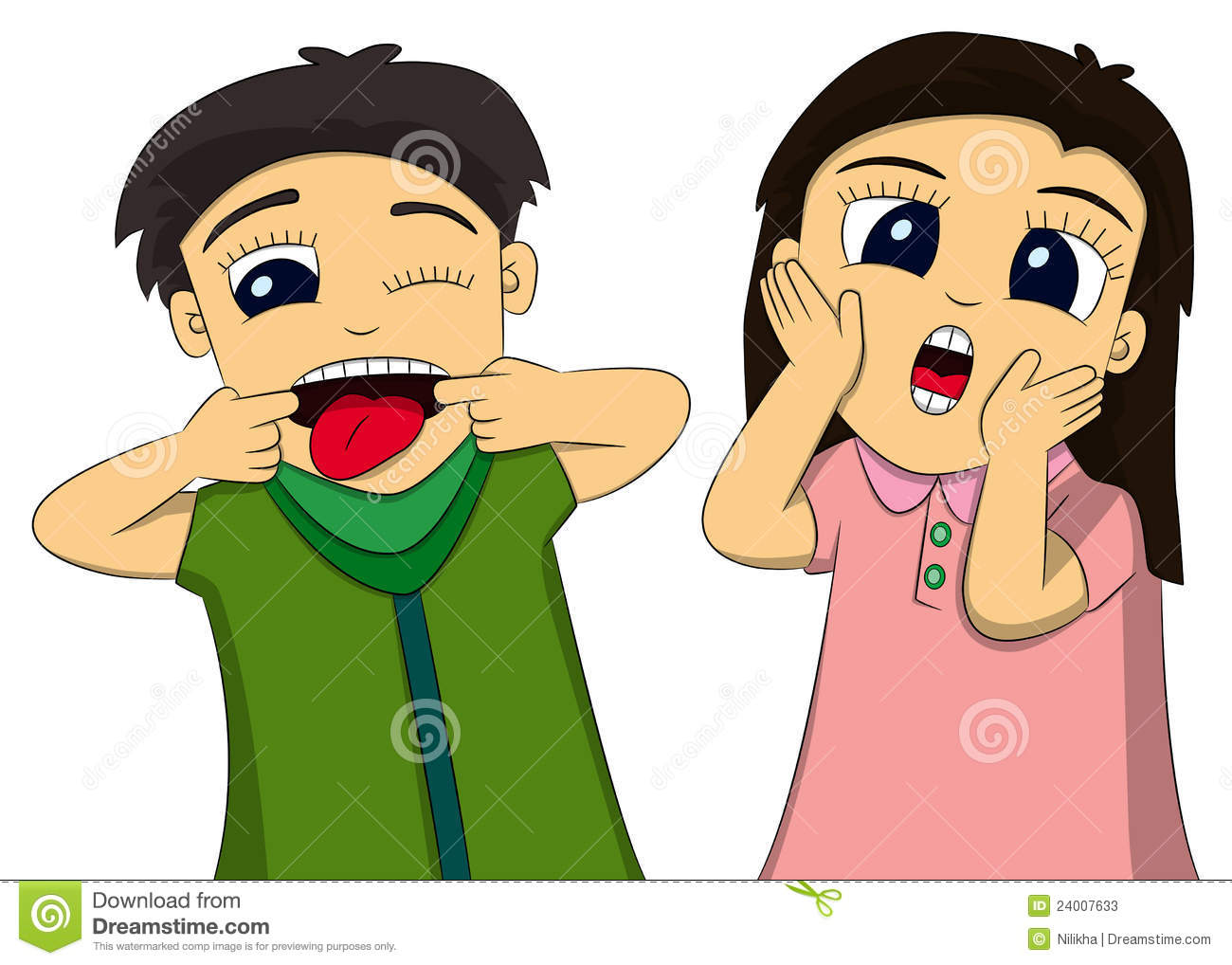 Funny Faces Stock Photos   Image  24007633