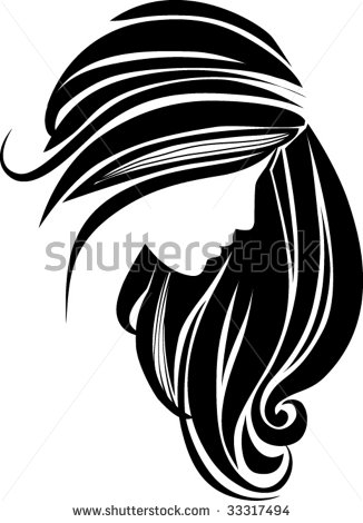 Hair Icon Stock Vector Illustration 33317494   Shutterstock