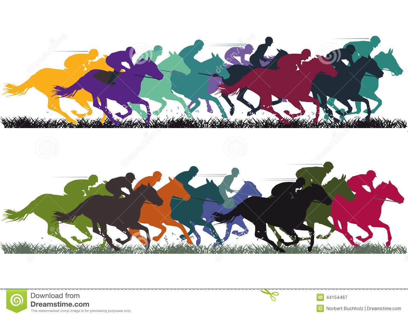 Horse racing track clip art - photo#9