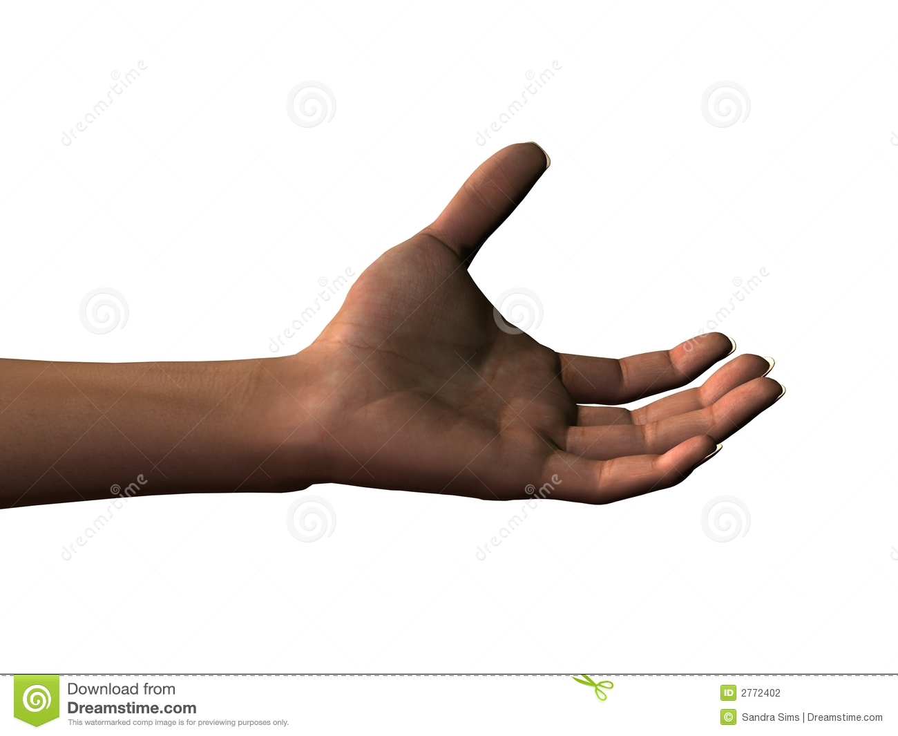 Outstretched Hand Clipart Outstretched Left Hand Stock
