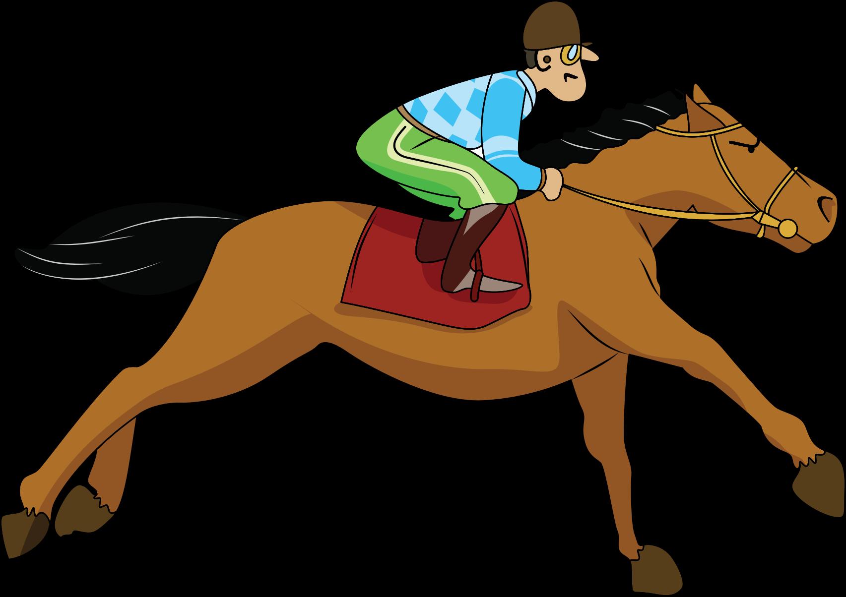 Horse racing track clip art - photo#20