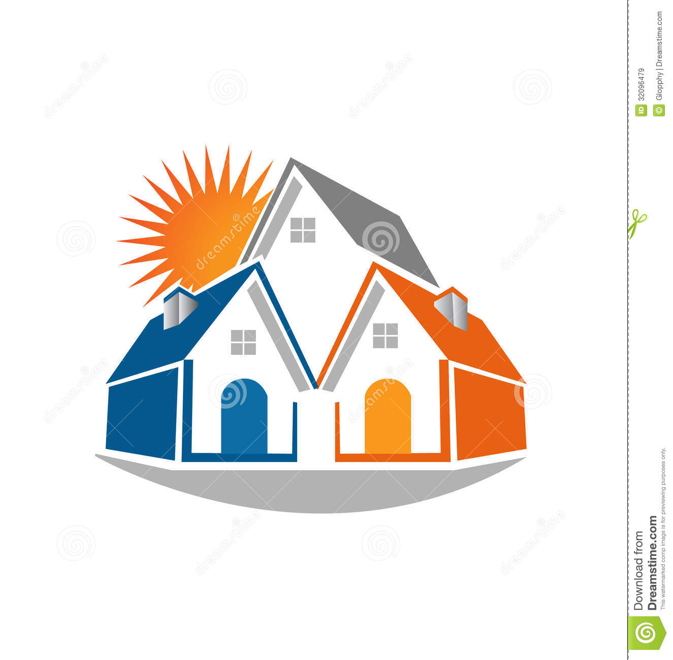House with commercial logo clipart clipart suggest for Clipart estate