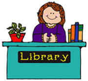 School Librarian Clipart Jim Thorpe Pta   Library