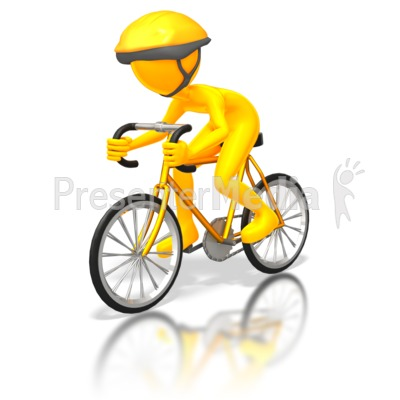 Street Cyclist Racer   Sports And Recreation   Great Clipart For