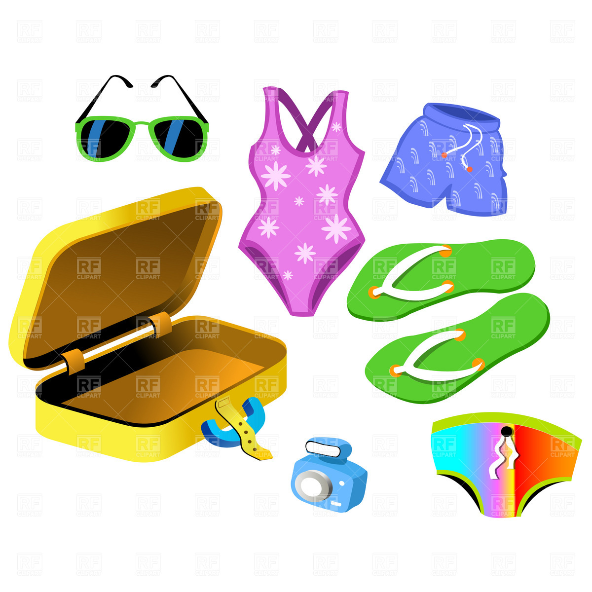 Swim Suit Clipart - Clipart Suggest