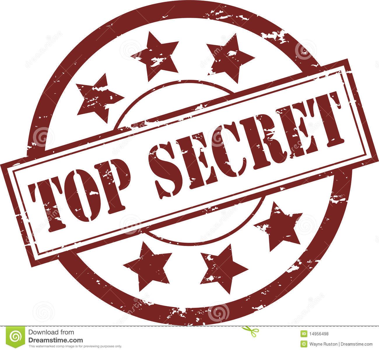 Top Secret Information Clip Art Cliparts