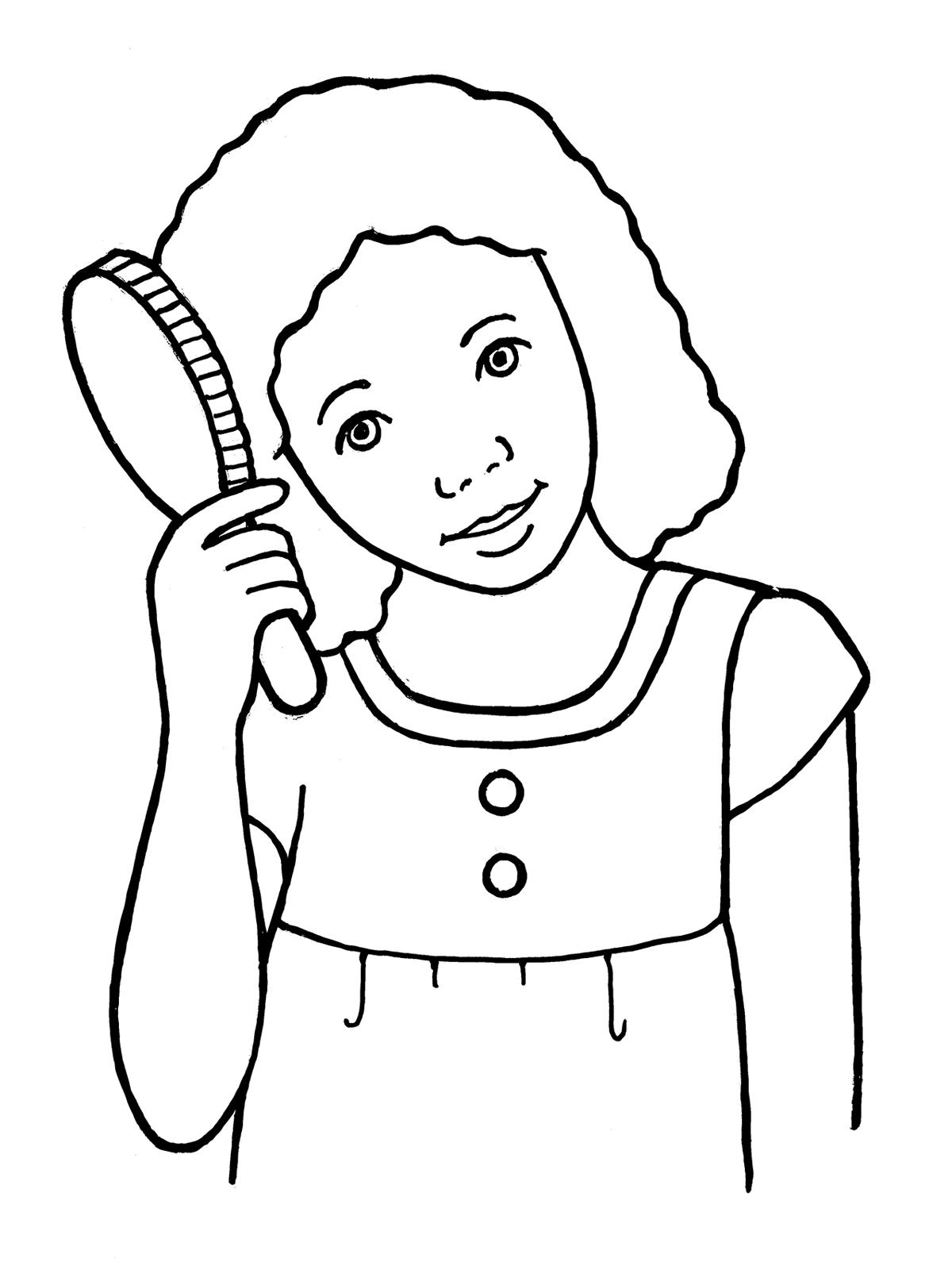 Combing kids hair clipart collection  diysolarpanelsvcom