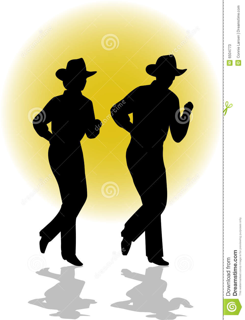 Country Line Dancing Clipart - Clipart Suggest