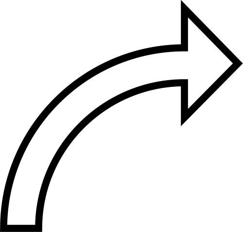 black curved arrow clipart clipart suggest curved arrows clip art transparent background curved arrow clip art black white