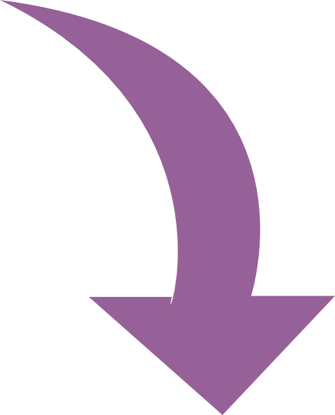 Curved Arrow Purple Clip Art At Clker Com   Vector Clip Art Online