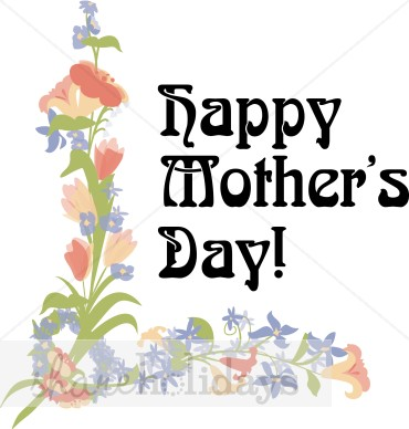 May Day Clip Art Nouveau Mother S Day Clipart