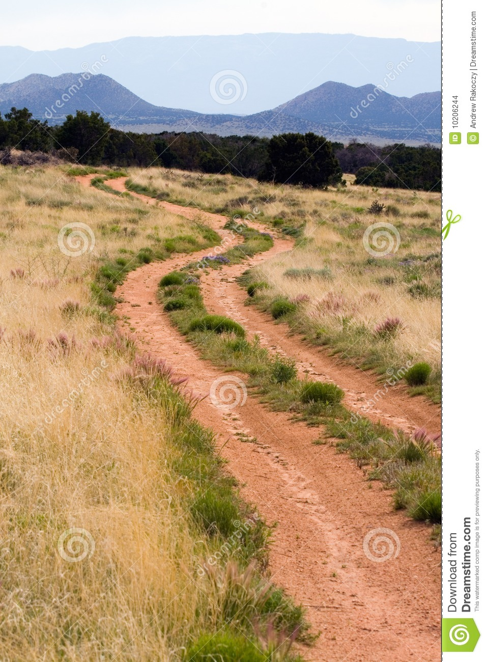 Mountain Road Clipart Dirt Road Mountain Scene
