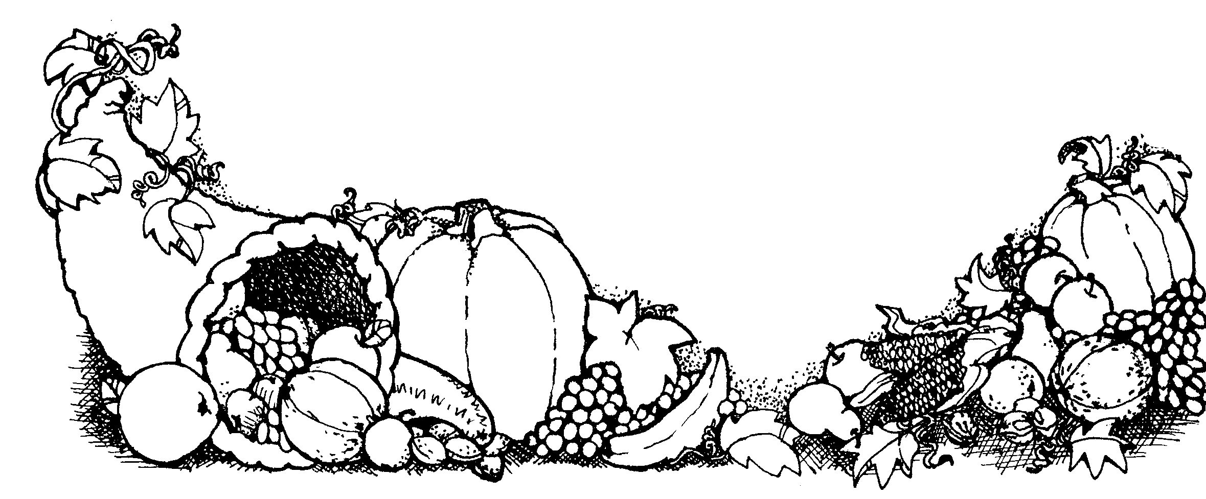 Turkey Dinner Clipart Black And White Emma S Trend Fashion And Style