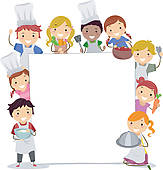 Baking Clipart Border Cooking Classes Board