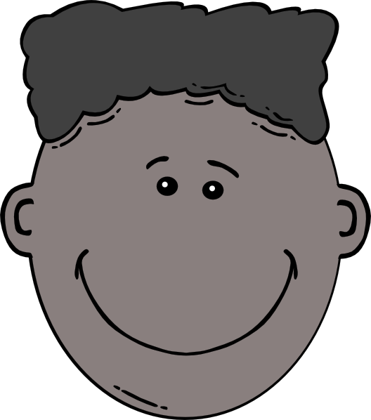Boy Face Cartoon Clip Art At Clker Com   Vector Clip Art Online