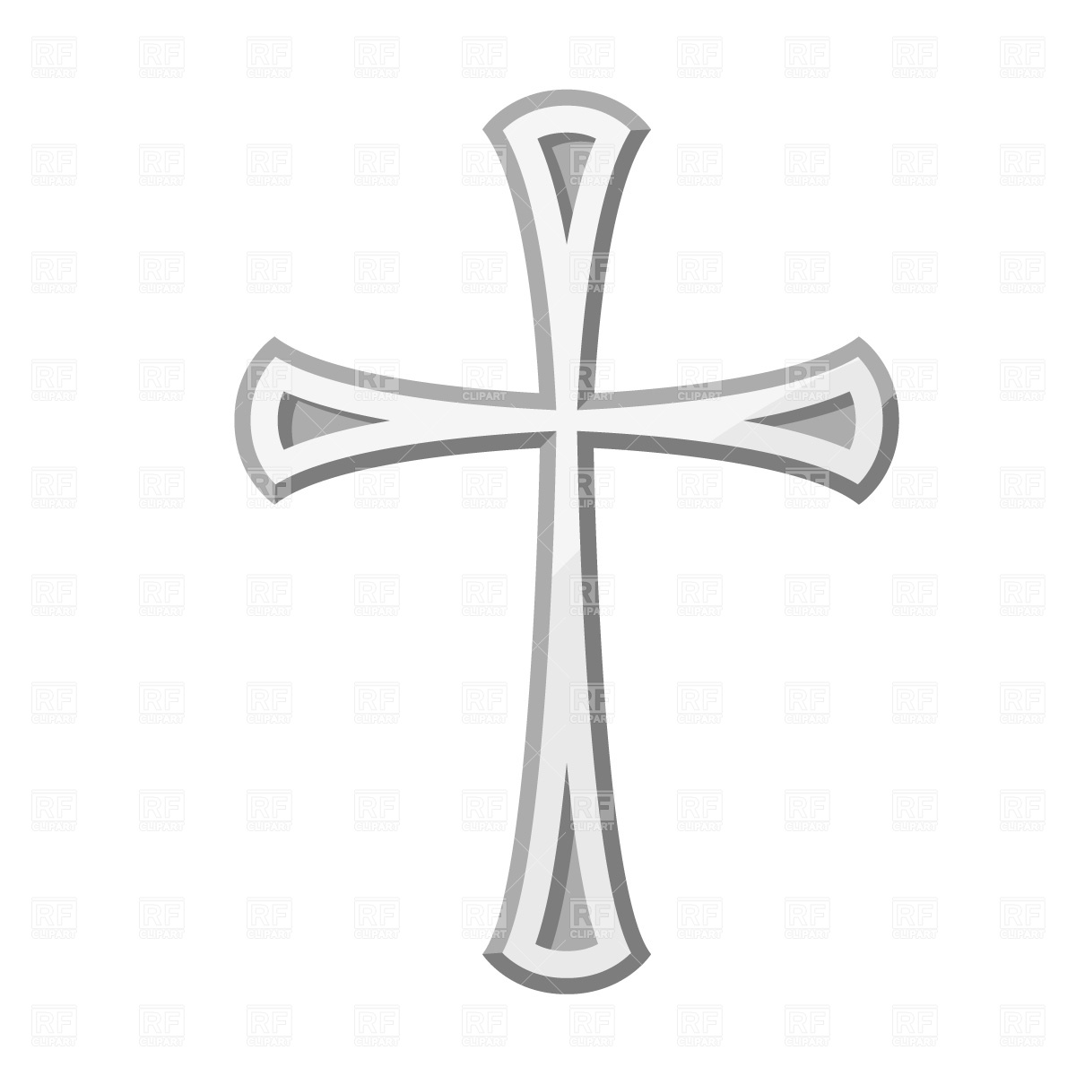 Cross 557 Signs Symbols Maps Download Free Vector Clipart  Eps