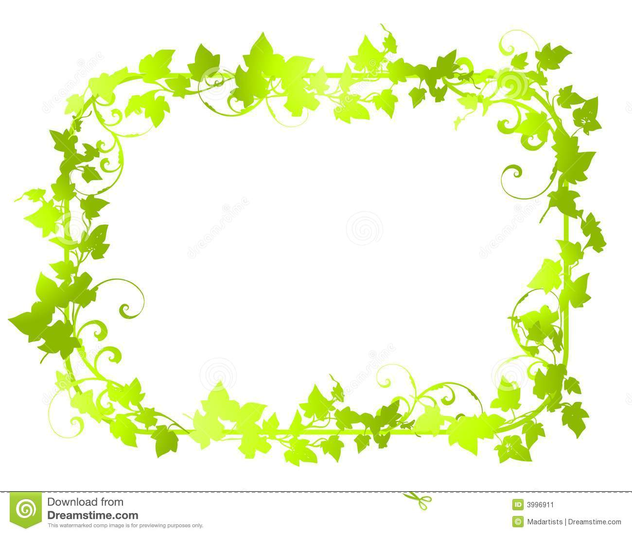 Green Leaves Border   Clipart Panda   Free Clipart Images