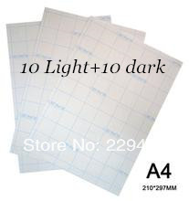Iron On Transfer Paper A4 Paper  10pcs Inkjet Heat Transfer Paper For