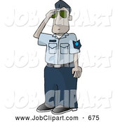 Job Clip Art Of A United States Air Force Pilot Saluting On A White