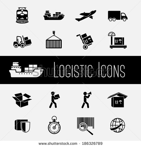 Logistics Icons Stock Photos Images   Pictures   Shutterstock