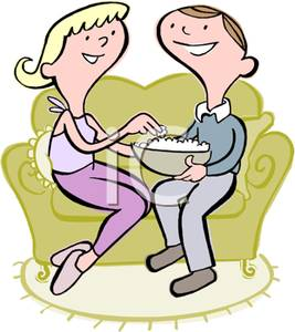 Man And Woman Eating Clipart   Cliparthut   Free Clipart