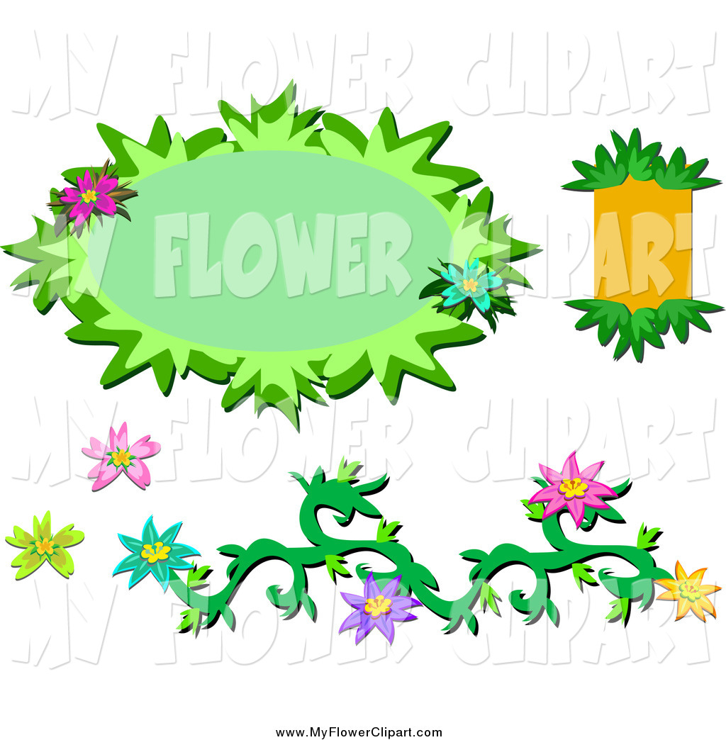Pics Photos   Clipart Giraffe And Floral Vine Frame With Blue