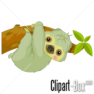 Related Sloth Cliparts