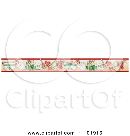 Royalty Free  Rf  Clipart Illustration Of A Border Divider Of Textured