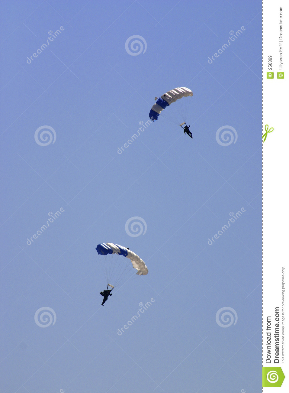Royalty Free Stock Images  United States Air Force Paratroopers