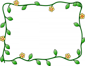 Share Flower And Vine Frame Clipart With You Friends
