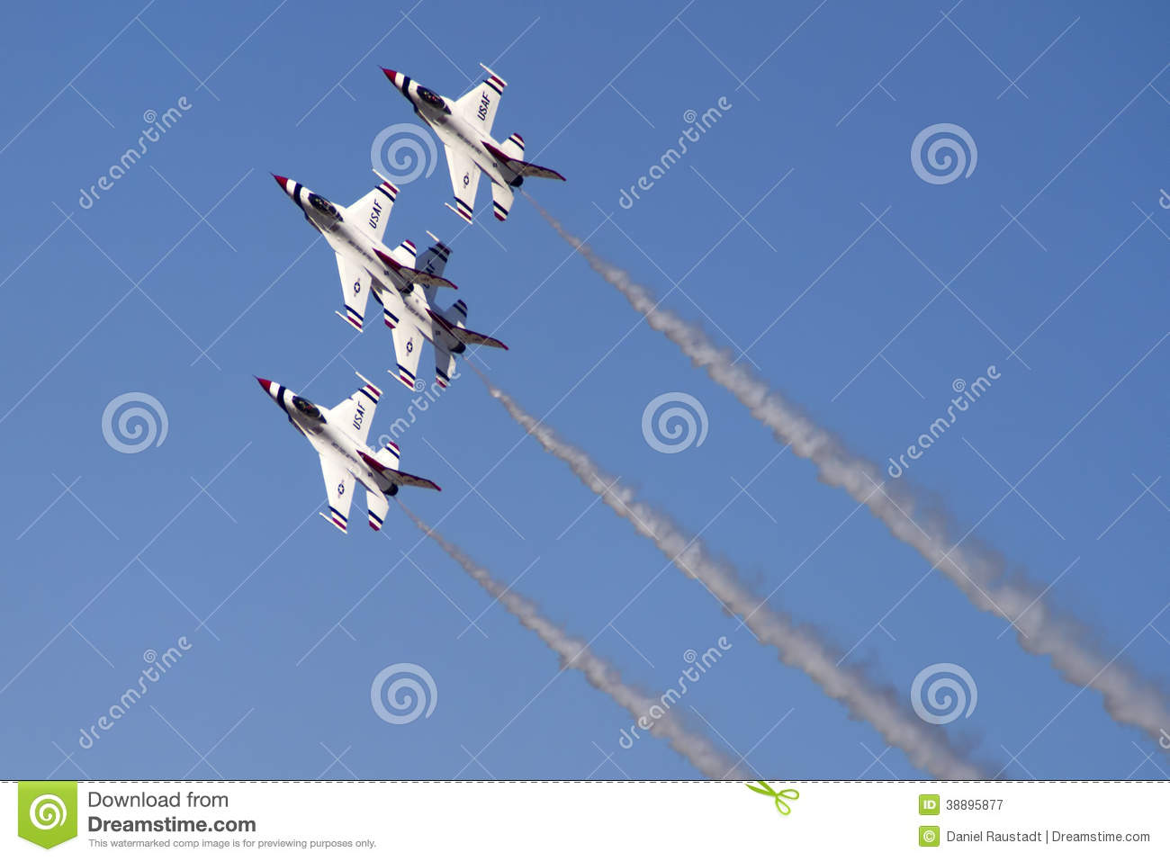 The United States Air Force Thunderbirds Air Demonstration Squadron