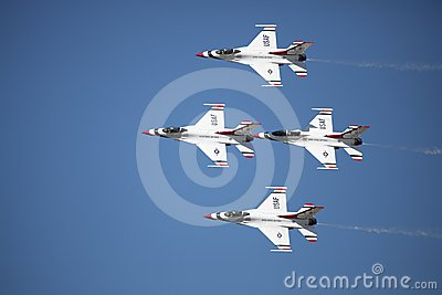 United States Air Force Thunderbirds Editorial Stock Image   Image