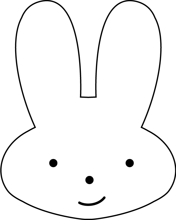 10 Bunny Outline Printable   Free Cliparts That You Can Download To