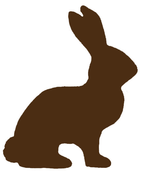 Bunny Outline Template