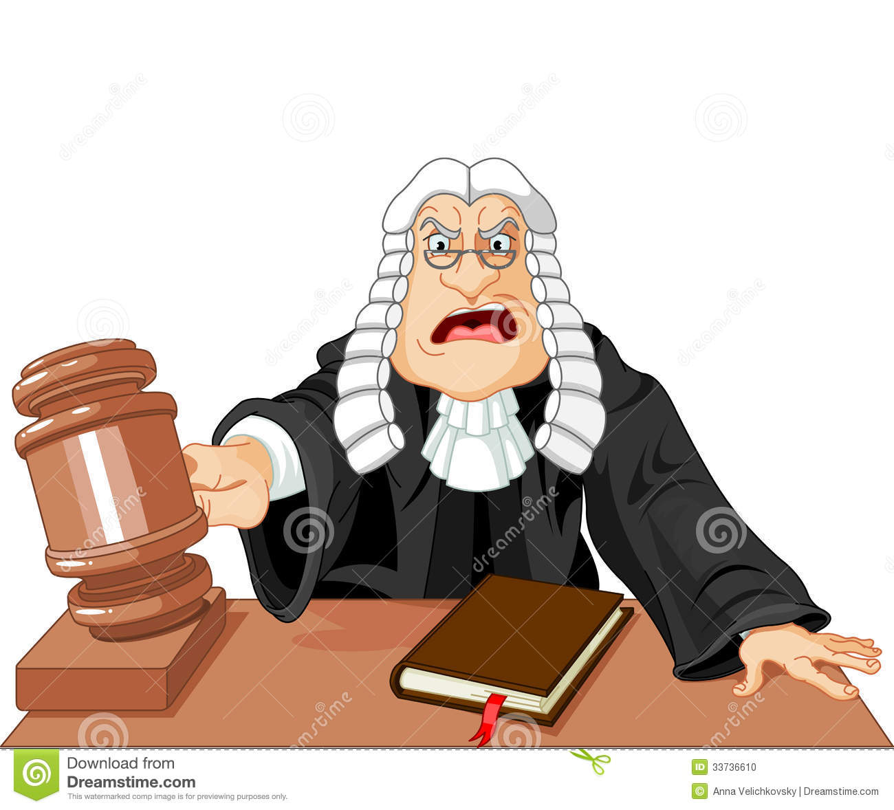 Cartoon Judge With Gavel Images   Pictures   Becuo
