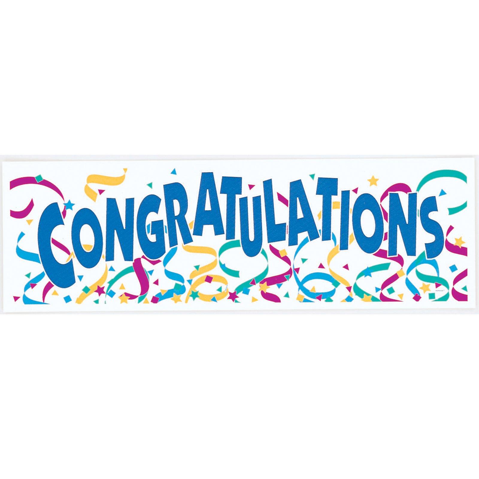 Congratulations Banner Clipart - Clipart Kid