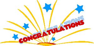 Congratulations Clip Art 04