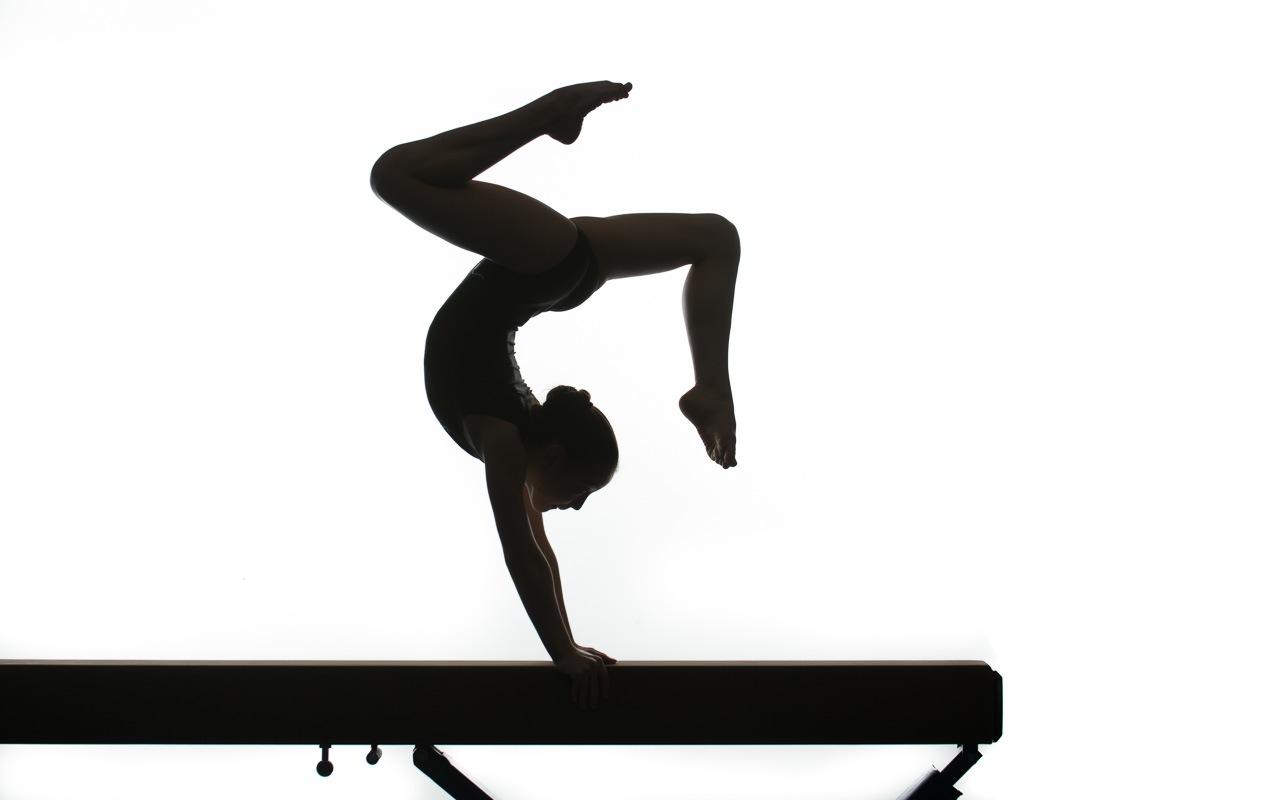 Gymnastics Clipart On Beam