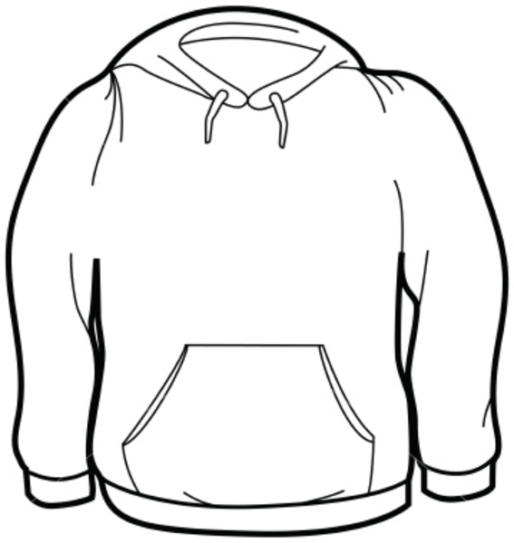 Ist Adult Size Sweatshirt   Free Images At Clker Com   Vector Clip Art