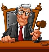 Judge   Royalty Free Clip Art