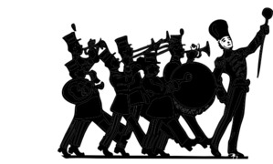 Clip Art Marching Band Clip Art marching band black and white clipart kid on clip art at clker com vector art