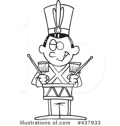 Marching Band Black And White Clipart - Clipart Suggest