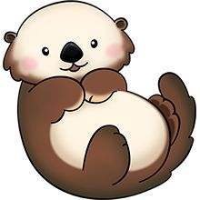 cute images of an otter clipart clipart suggest