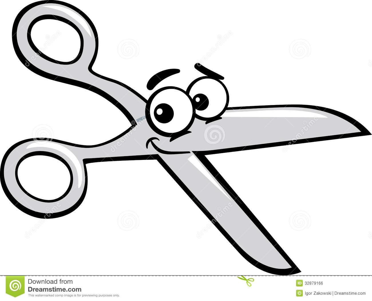 Scissors Cute Clipart - Clipart Kid