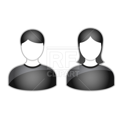 Simple People Avatars People Download Royalty Free Vector Clip Art