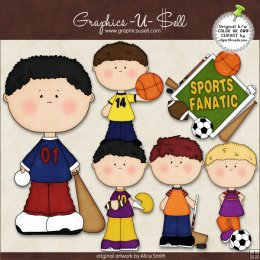 Sports Clipart For Kids Sports Fanatic 1 By Clipart 4