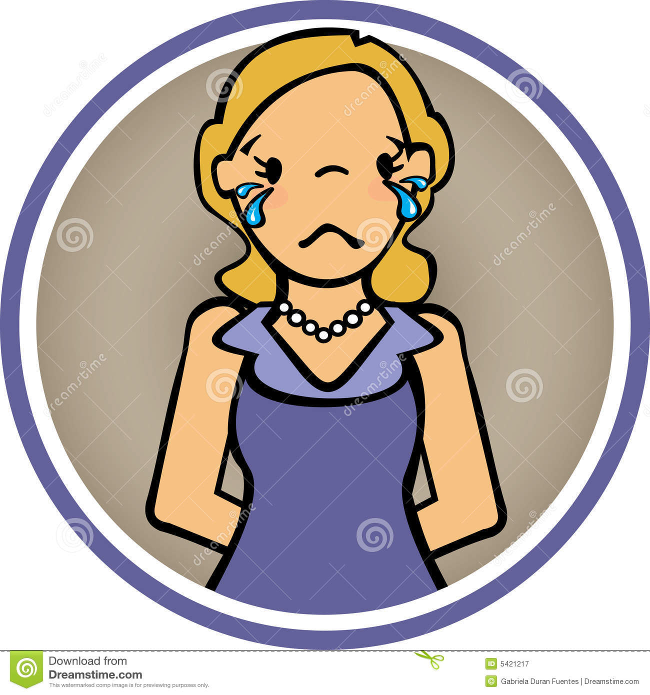 Crying Lady Clipart   Cliparthut   Free Clipart