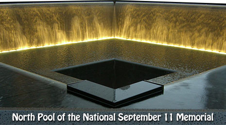 Domain Image Of The North Pool Of The National September 11 Memorial