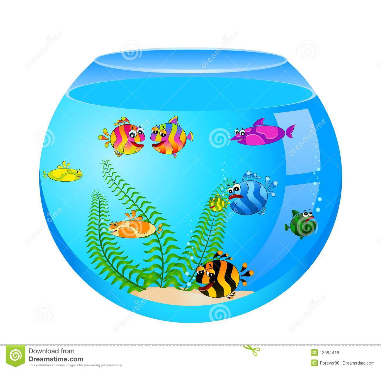 Fish Tank Castle Clipart Fish Tank Castle Clipart